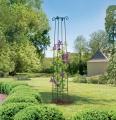 Dekorativní podpora rostlin Obelisk 2 m
