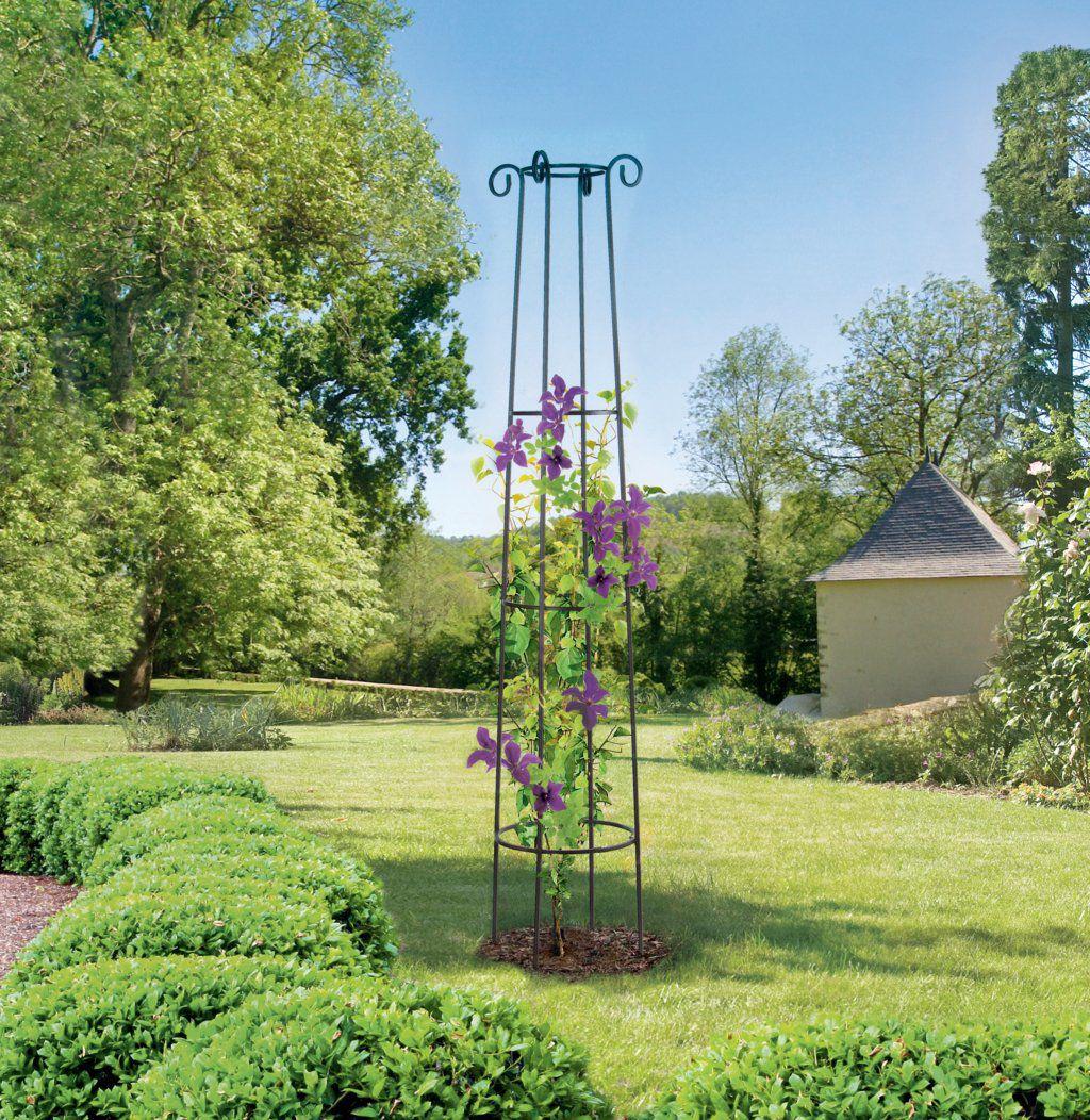 Nortene Obelisk Dekorativní podpora pro popínavé rostliny 41 x 200 cm