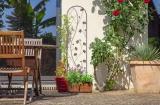Dekorativní podpora pro rostliny YIN and YANG Trellis