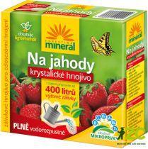 Krystalické hnojivo s lignohumátem - Na jahody a drobné ovoce 400 g Forestina