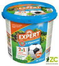 Hnojivo trávníkové - Expert 2v1 10 kg s vápencem