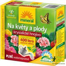 Krystalické hnojivo s lignohumátem - Na květy a plody 400 g Forestina