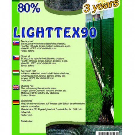 Lighttex stínovka, výška 2 m, 80% stínění