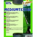 Mediumtex stínovka, výška 1,5 m, 90% stínění