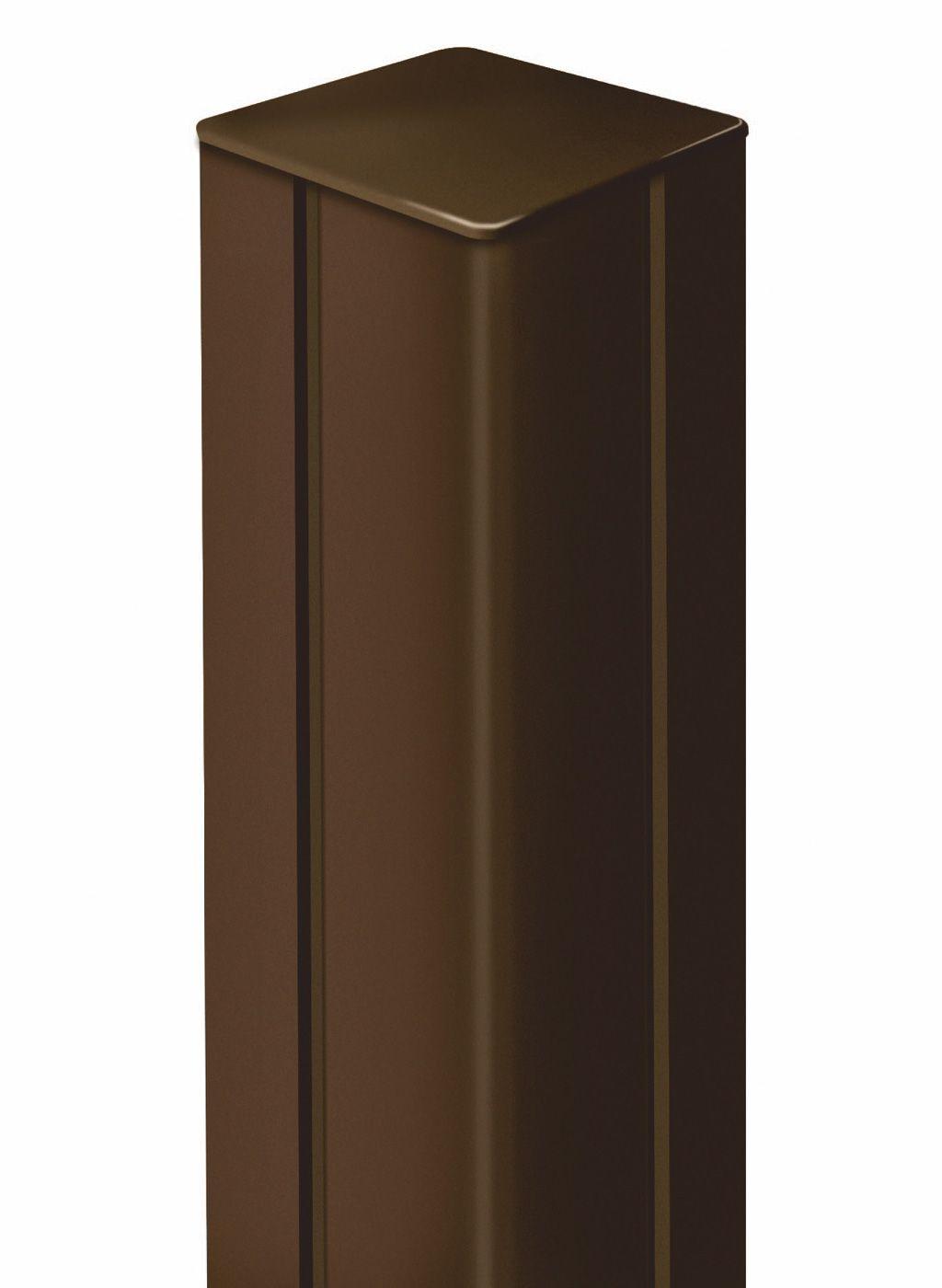 NORTENE ALUPOST HLINÍKOVÝ SLOUP HNĚDÝ, 115cm