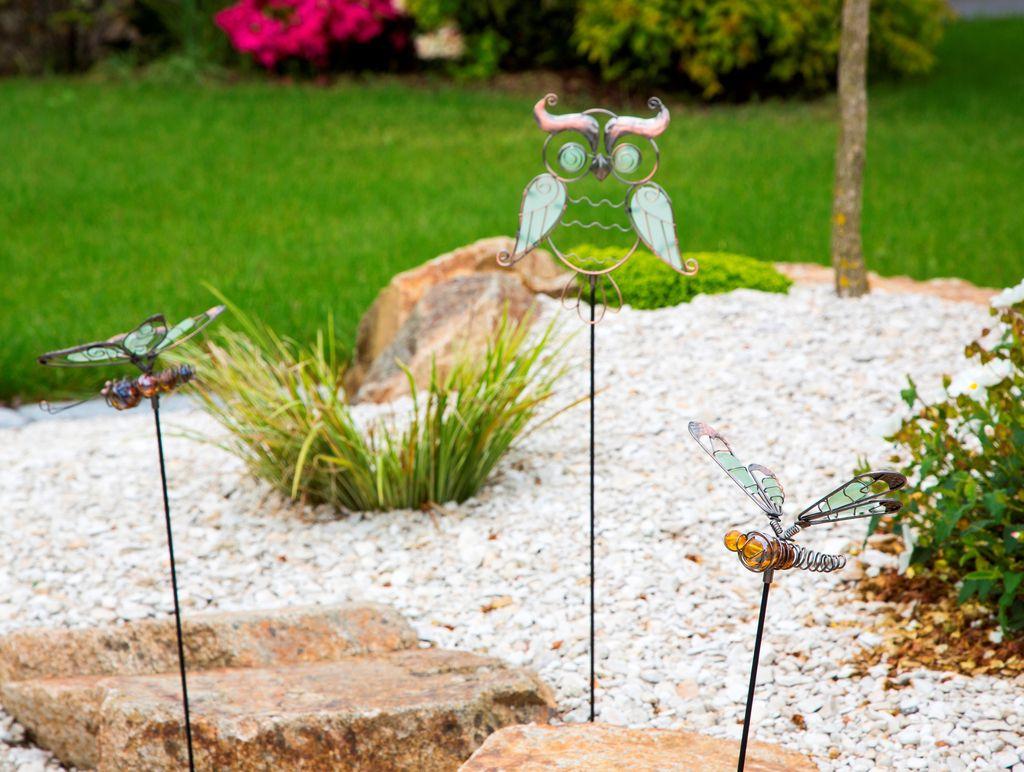 Nortene Dekorativní zahradní figurky Lucily s fosforescenčními prvky