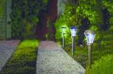 Zahradní solární světlo AREIS LED