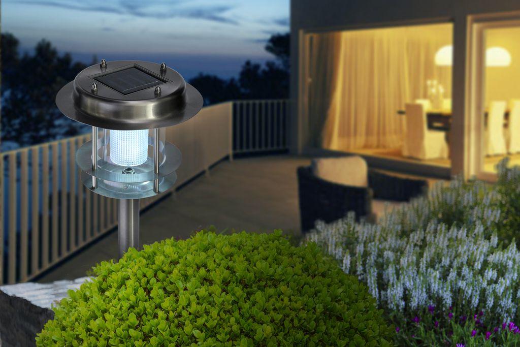 Nortene Zahradní solární světlo ATLANTIC LED