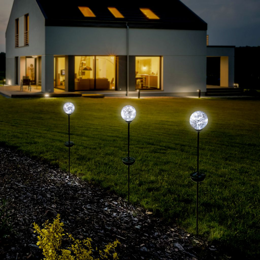 Nortene Zahradní solární světlo ODYS LED