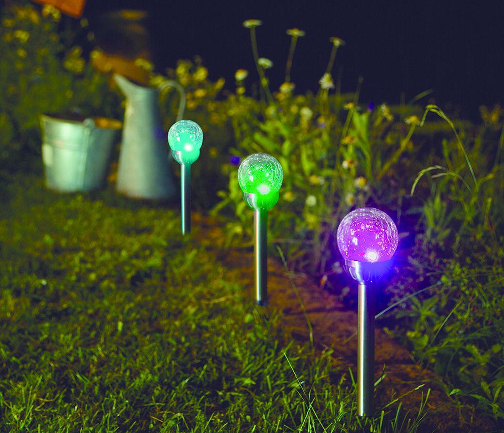 Nortene Zahradní solární světlo OPHRIS LED