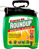 Roundup Expres 6h - 5 l rozprašovač /P&GO 2/, herbicidní přípravek Rosteto