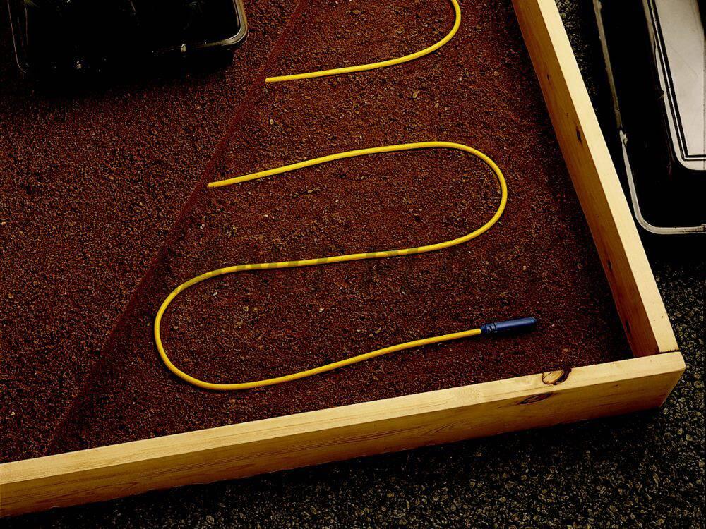 Odporový drát (kabel) - Půdní topení do skleníku, pařníku, květináčů apod.