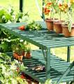 Vitavia Garden Regál do skleníku, univerzální dvoupolicový 120 x 52 cm