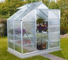 Vitavia Garden Skleník Vitavia VENUS 2500 PC 4 mm, 193 x 131 cm + dárek základna zdarma