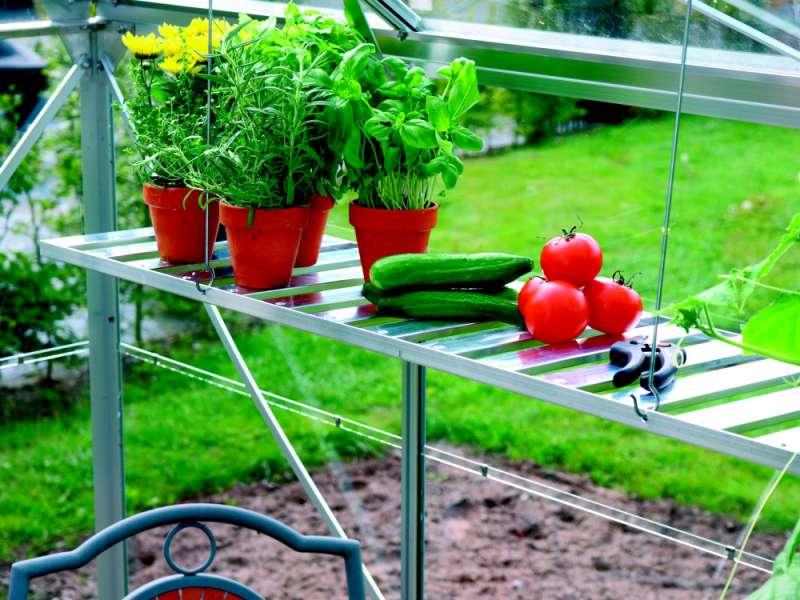 Vitavia Garden Závěsná polička AL 120x29 cm