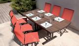 Twig židle hliníková červená Les Jardins