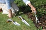 Zvětšit fotografii - Zahradnické nářadí zaúhlené – lopatka, kultivátor