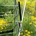 Ventilační okno stěnové 60 x 60 cm