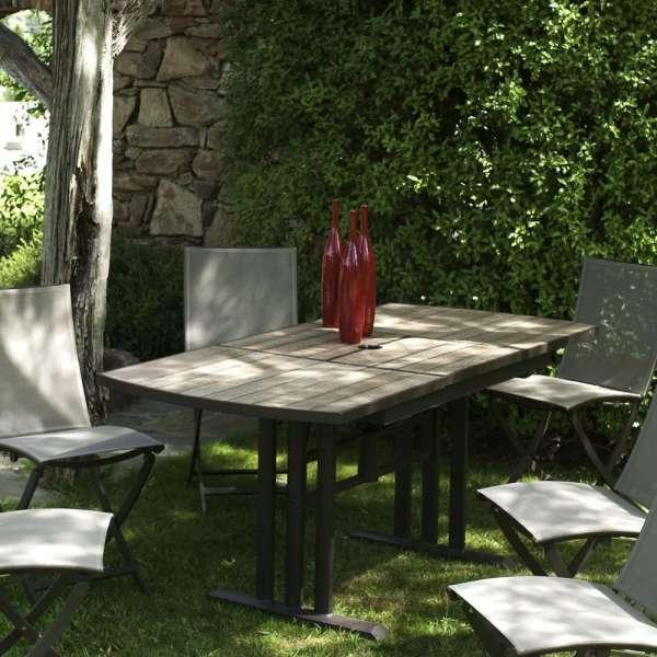 Les Jardins Stůl rozkládací Twig 120/170x78x74