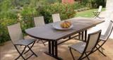 Les Jardins Twig židle hliníková hnědošedá