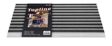 HAMAT Čistící rohožka Topline 324, 50 x 80 x 1,5 cm anthracite, protiskluzová