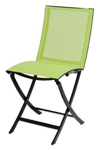 Les Jardins Twig židle hliníková zelená
