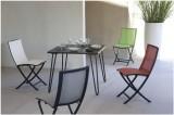 Stůl 90x90x74 se 4 sklopnými nohami CACAO