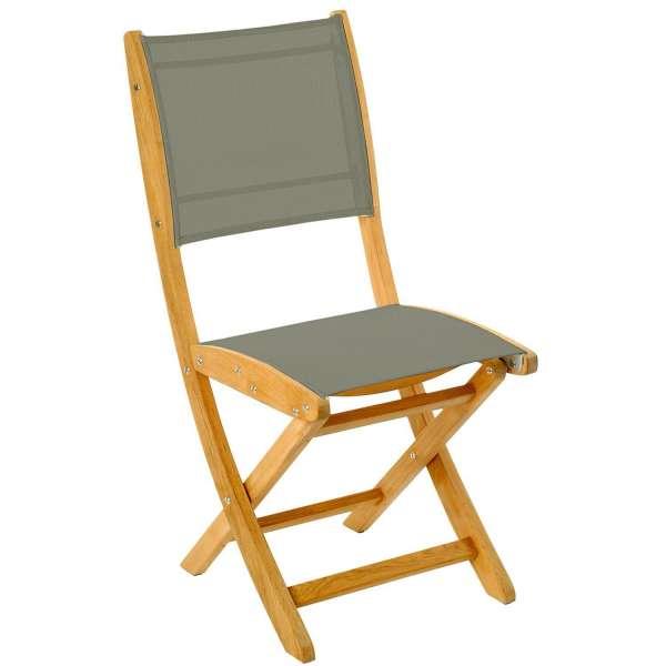Les Jardins Židle Sillage, výplň batyline popelavý