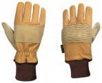 Kožené rukavice Bucheron - motorová pila