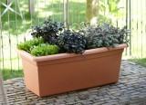 Maxi truhlík Green Basics Garden XXL s miskou 100 cm