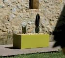 Jardinera AIGUA, 40 x 40 x 100 VONDOM