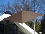 Paraflex slunečník 190x190cm Sada Wallflex pro montáž na stěnu Premium