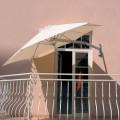 Umbrosa Paraflex slunečník Round 270 cm Solidum Sada pro montáž na stěnu