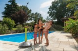 GF Solární sprcha Sunny Style Premium šedá G.F.