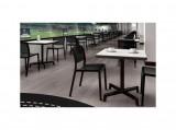 Resol Zahradní set židlí 4 ks TRAMA s průhlednými efekty pro venkovní i vnitřní použití