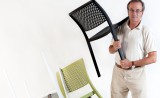 Zahradní set 4 ks židlí TRAMA s průhlednými efekty