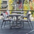 Zahradní set 4 ks židlí HEY pro venkovní i vnitřní použití Resol