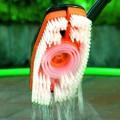 Hydrobrush Kartáč mycí na podlahy a terasy s dávkovačem saponátu