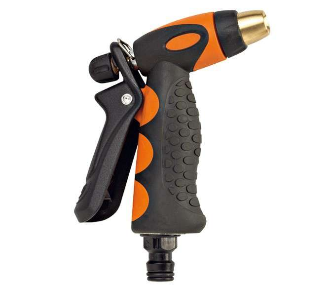 G.F. - Pistole guma-kov s širokým rozsahem regulace max.10 l/min (3 bary)