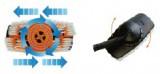 G.F. - Hydrobrush Kartáč mycí na podlahy a terasy s dávkovačem saponátu