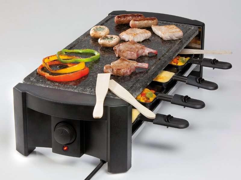 DOMO Raclette gril z přírodního kamene - DOMO DO 9039 G