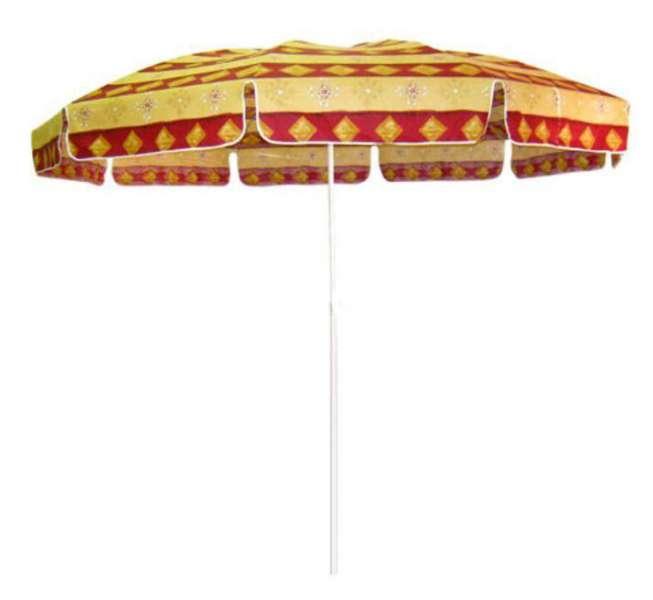 PARIS slunečník průměr 300 cm, červená kombinace