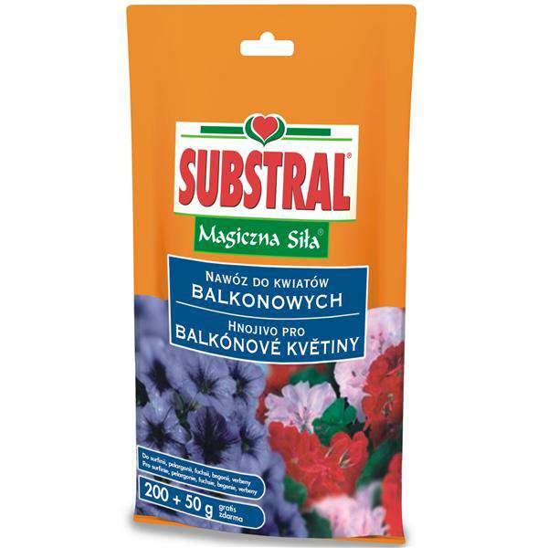 Substral pro balkonové květiny krystalické hnojivo 250 g