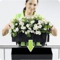 Lechuza BALCONERA COTTAGE All-in-One - komplet samozavlažovací květináč 50 cm