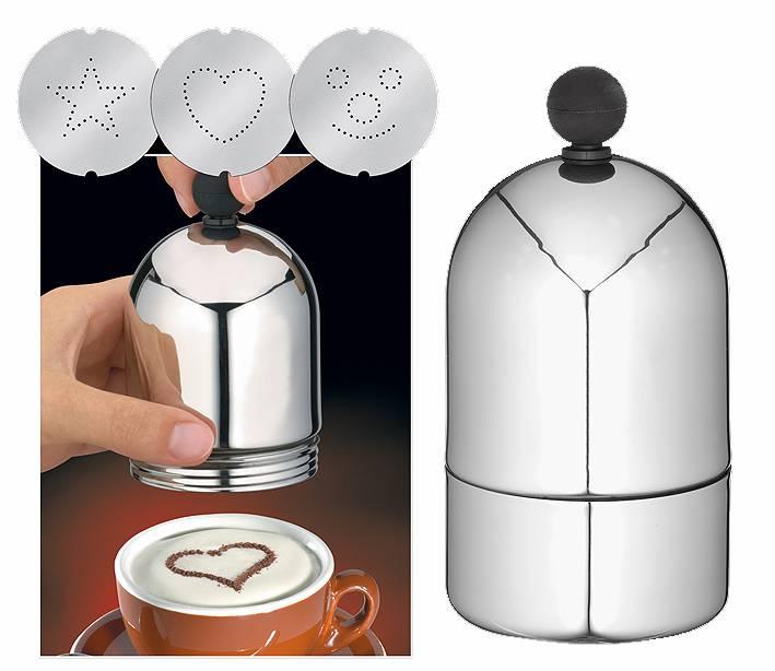 Cilio - Zdobící sypátko na cappuccino