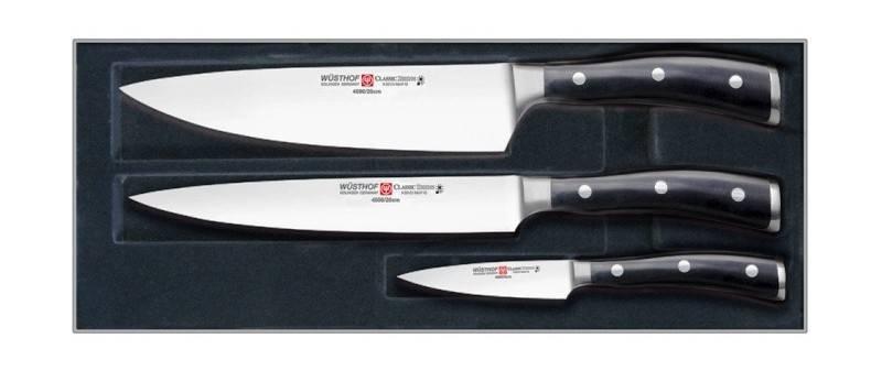 Sada 3 nožů WÜSTHOF Classic Ikon Wüsthof