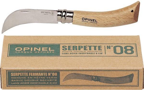Zahradnický nůž OPINEL s 8 cm čepelí z nerezové oceli